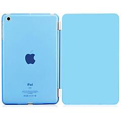 pu skóra z przezroczystego tworzywa sztucznego dysku tylnej inteligentnego przypadku stand for iPad 2/3/4 (różne kolory)
