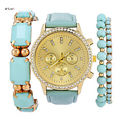 Women's Fashion Quartz Anolog Wrist Watch(Assorted Colors)