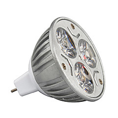 3W MR16 210-245LM Warm/Cool Light Lamp LED Spot Lights(12V) 1PCS