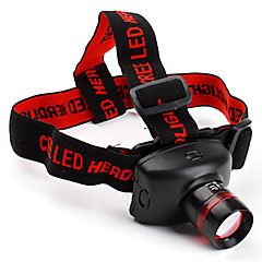 Scheinwerfer Straps LED 2 Modus 800 Lumen einstellbarer Fokus Cree XP-E R2 AAACamping / Wandern / Erkundungen / Für den täglichen Einsatz