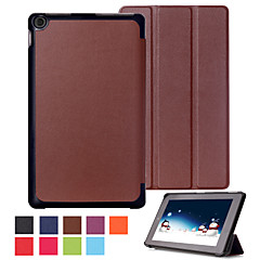 10.1 Inch Triple Folding Pattern High Quality PU Leather for Amazon Fire HD 10(2015)(Assorted Colors)