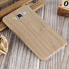 Grain Pattern PU Soft Shell Case for Galaxy A3/A5/A7