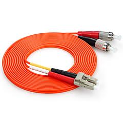 Shengwei® LC(UPC)-LC(UPC) Simplex Double Core Fiber Patch Cord 3M/5M/10M