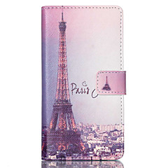 For Sony Case Wallet / Card Holder / with Stand / Flip Case Full Body Case Eiffel Tower Hard PU Leather for SonySony Xperia Z3 Compact /