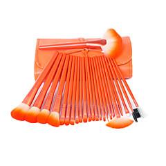 24Øjenvipper børste Concealer-børste Vifte Børste Pudderbørste Svampeapplikator Foundationbørste Konturbørste Brush Sets Rougebørste