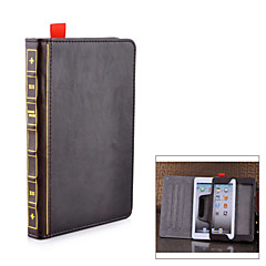 BOOK Style Protective PU Leather Case for iPad mini - Brown