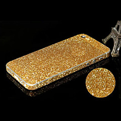 forreste + side + back full-body Bling skærm sticker til iPhone 5 / 5s (assorterede farver)