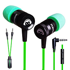 plextone® g10 in-ear e-sportgames zware metalen bass oortelefoon met microfoon voor iphone6 ​​/ iphone6 ​​plus mobilephone / pad / mp3 /