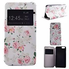 Mert iPhone 7 tok / iPhone 7 Plus tok / iPhone 6 tok / iPhone 6 Plus tok Állvánnyal / Betekintő ablakkal / Flip / Minta CaseTeljes