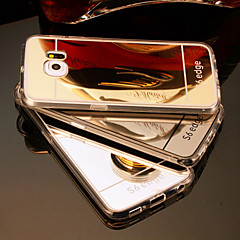 삼성 갤럭시 S3 / S4 / S5 / S6 / S6 가장자리 / S6의 가장자리 거울 아크릴 뒷면 케이스 플러스
