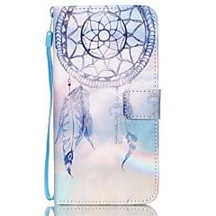 Na Samsung Galaxy Etui Portfel / Etui na karty / Z podpórką / Flip / Wytłaczany wzór Kılıf Futerał Kılıf Łapacz snów Skóra PU SamsungS6