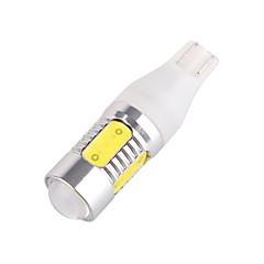 יובו t15-5d-5 * 7W 480-500lm אור לוחית רישוי 6500K רכב / DC אור קלח מנורת אישור הלבן (12V-24V)