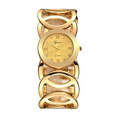 Új divat hölgy arany karóra a nők teljes rozsdamentes kvarc karóra Relojes mujer Relogio Feminino
