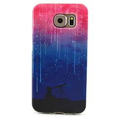 Meteor Shower Pattern TPU Painted Soft Back Cover for GALAXY S6/S5/S5Mini S4/S4Mini S3/S3Mini