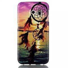 tramonto TPU posteriore morbida per Samsung Galaxy S6 / S6 bordo / S4 / S5 / s3