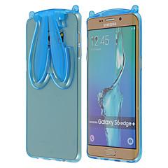logrotate®transparent Kaninchen tpu Fall mit Gurt und stehen für Samsung Galaxy S6 Kante + / S6 Kante / S6 (Farbe sortiert)