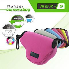 neopine Schutz weiche Tasche Tasche perfekt für sony NEX5 nex5t nex5r nex3n 16-50mm Objektiv