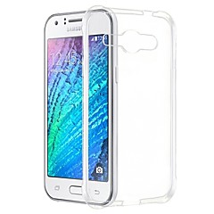 For Samsung Galaxy Case Transparent Case Back Cover Case Solid Color TPU Samsung J1