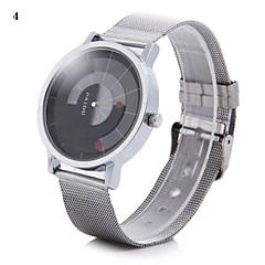Heren Polshorloge Unieke creatieve horloge Kwarts Legering Band Zilver # 1 2 # # 3 # 4