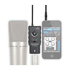 android smartphone artı apple ipad iphone 4 5 6 fantom güç ile xlr mikrofon preamplifier ses adaptörü