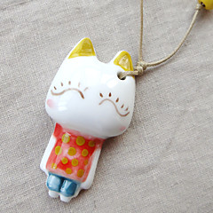 Cute Fresh Ceramic / Wood Necklace Pendant Necklaces Party / Daily / Casual 1pc