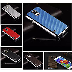 High Quality Carbon Fiber Texture Leather Coated Hard Back Slim Case Cover For Galaxy S6 Edge Plus/S6 Edge/S6/S5/S5 mini