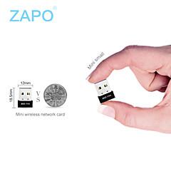 ZAPO de wifi portable et AP externe Mini USB réseau sans fil de l'émetteur-récepteur de la carte