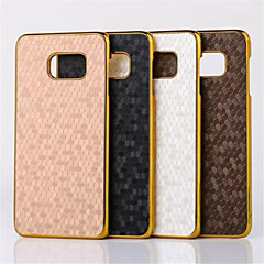 Football Grain Line Leather Metal Fdge Case Back Cover For Galaxy S4/S6/S5/S5 mini/S6 edge/S6 sdge plus(Assorted Color)
