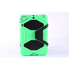 mode verdediger geval waterdichte schokbestendige geval pc + siliconen hybride case cover voor de iPad lucht retina