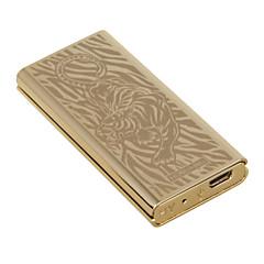 """persoonlijkheid originaliteit opladen lichter ultradunne winddicht elektronische sigaret lichtere metalen stille """"tiger"""""""