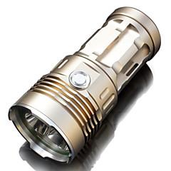 LED손전등 / LED 전구 LED 4.0 / 2 모드 6000 lumens 루멘 방수 / 충전식 / 슬립 방지 그립 / 슈퍼 라이트 / 높은 전력 크리어 XM-L2 18650 / AA캠핑/등산/동굴탐험 / 일상용 / 다이빙/보트 / 사이클링 /