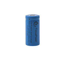 Focus Power 4.2V Rechargeable 1200mAh 16340 Lithium Ion Battery