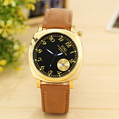 Men Casual Watch Genuine Leather Luxury Men Watches Quartz Wristwatch Function Automatic Timing Watch Relogio