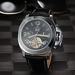 Men's Tourbilion Design Hollow Auto Mechanical Fashion Watch