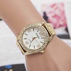 여자와 남자 다이아몬드 패션 손목 시계