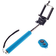 Wireless Bluetooth Self Portrait Monopod Adjustable Stick Pole For Iphone Andriod Mobie Phones With Remote Control