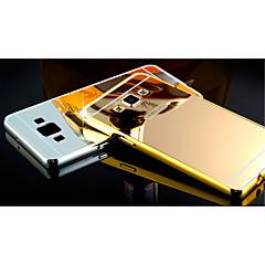 Na Samsung Galaxy Etui Galwanizowane / Lustro Kılıf Etui na tył Kılıf Jeden kolor PC Samsung A8 / A7 / A5