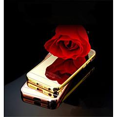 Varten iPhone 5 kotelo Peili Etui Takakuori Etui Yksivärinen Kova Akryyli iPhone SE/5s/5