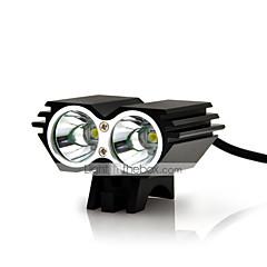 Φώτα Ποδηλάτου φώτα ασφαλείας LED Cree XM-L U2 Ποδηλασία Αδιάβροχη Επαναφορτιζόμενο Ανθεκτικό στα Χτυπήματα Εύκολη μεταφορά 18650 ΑΑΑ 5000