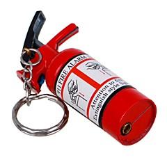 diseño extintor de material metálico fuego llama desnuda inflable sola llama más ligero