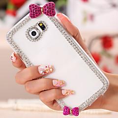 glitter diamant bowknot mönster tillbaka fallet för Samsung Galaxy S3 / S4 / S5 / S6 / S6 kant / s6 kant plus