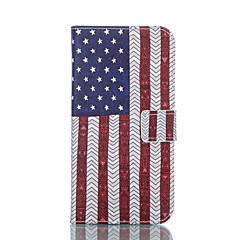 Flag of the United States Painted PU Phone Case for Galaxy S6edge plus/S6edge/S6/S5/S5mini