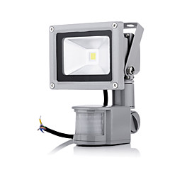 10W LED Προβολείς 1 LED Υψηλης Ισχύος 2800-6500 lm Θερμό Λευκό / Ψυχρό Λευκό Αισθητήρας AC 85-265 V 1 τμχ