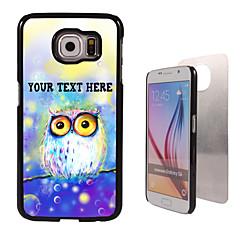 Na Samsung Galaxy Etui Wzór Kılıf Etui na tył Kılıf Sowa PC SamsungS6 edge plus / S6 edge / S6 / S5 Mini / S5 / S4 / A8 / A7 / Note 5 /