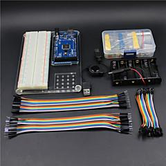 Mega 2560 expérience r3 kit de poche plate-forme de transport pour arduino-- transparente verte +