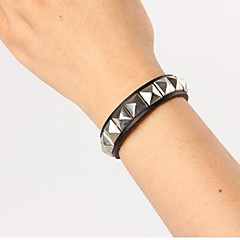 Square Aivet  Leather Bracelets Daily / Casual 1pc