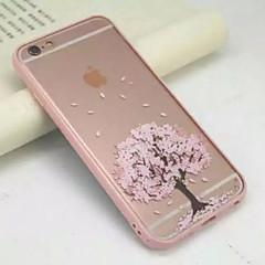 κάτω από ένα δέντρο κεράσι γεμάτη από ακρυλικό διαφανές περιτύλιγμα μαλακό περιπτώσεις για το iphone 6s 6 συν se 5s 5