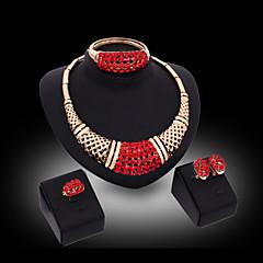 Γυναικεία Σετ Κοσμημάτων Μοντέρνα κοσμήματα πολυτελείας κοστούμι κοστουμιών Πετράδι Cercei Κρεμαστό Βραχιόλι Δαχτυλίδι Για Πάρτι Ειδική