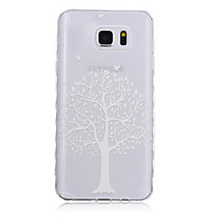 New Tree Pattern Waves Slip Handle TPU Soft Phone Case for Galaxy Note 3/ Note 4/ Note 5