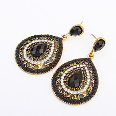 Earring Drop Earrings Jewelry Women Alloy / Resin 2pcs Beige / Blue